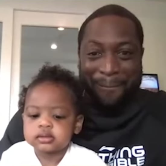 Watch Shaq Try to Entertain Dwyane Wade's Daughter, Kaavia
