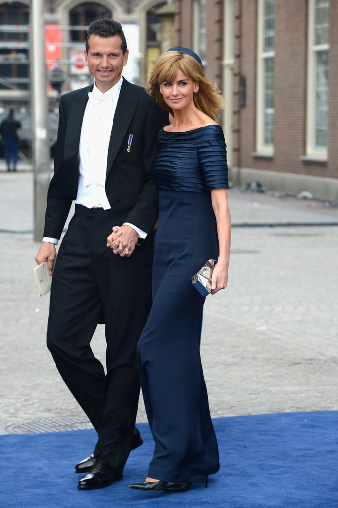 Dutch celebrity Daphne Deckers attended with her husband, former | Netherlands Inauguration 2013 | POPSUGAR Love & Sex Photo 50