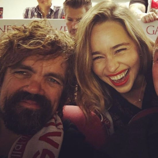 Game of Thrones Cast at Soccer Game in Spain November 2016