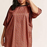 Forever 21 Geo Print High-Low Dress