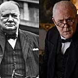 Winston Churchill and John Lithgow