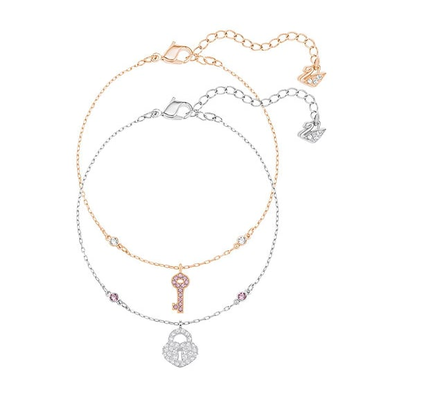 Crystal Wishes Key Bracelet Set, $149