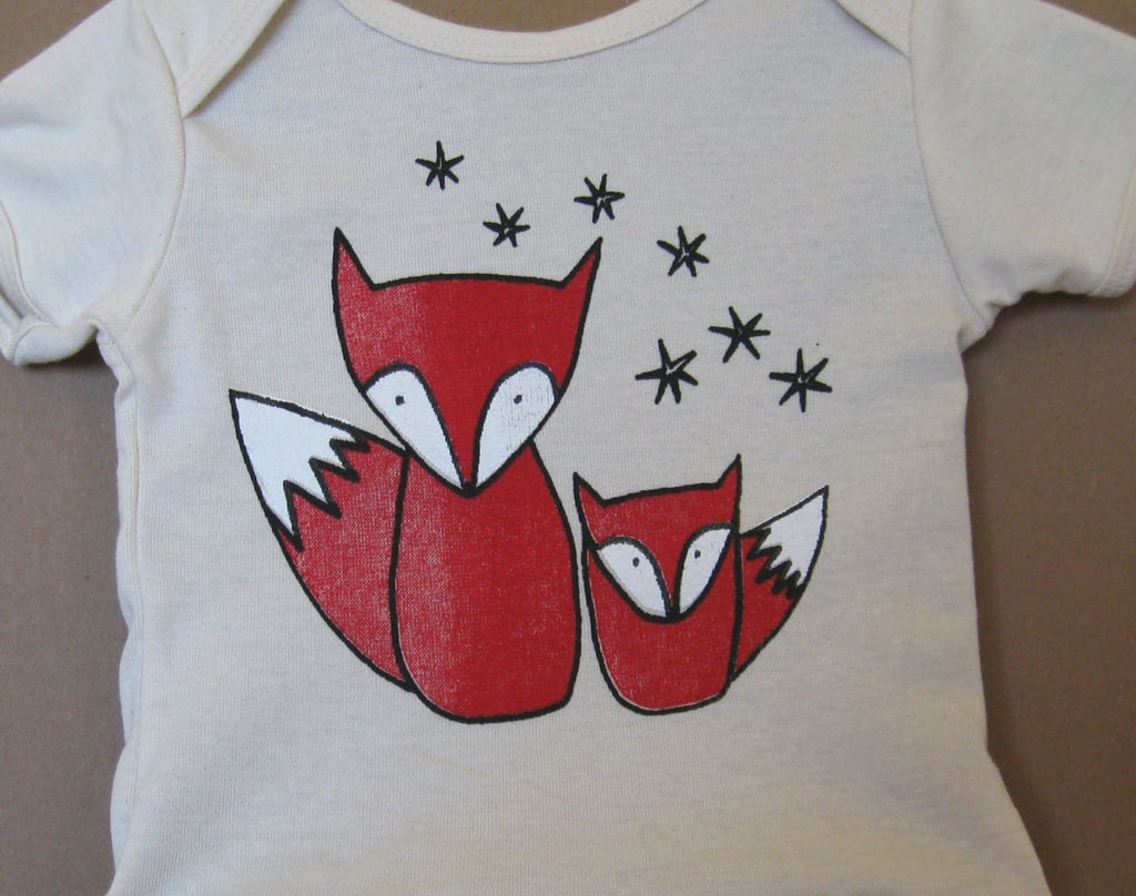 Organic Red Fox T-Shirt