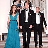 Kate Middleton Blue Jenny Packham Gown 2018