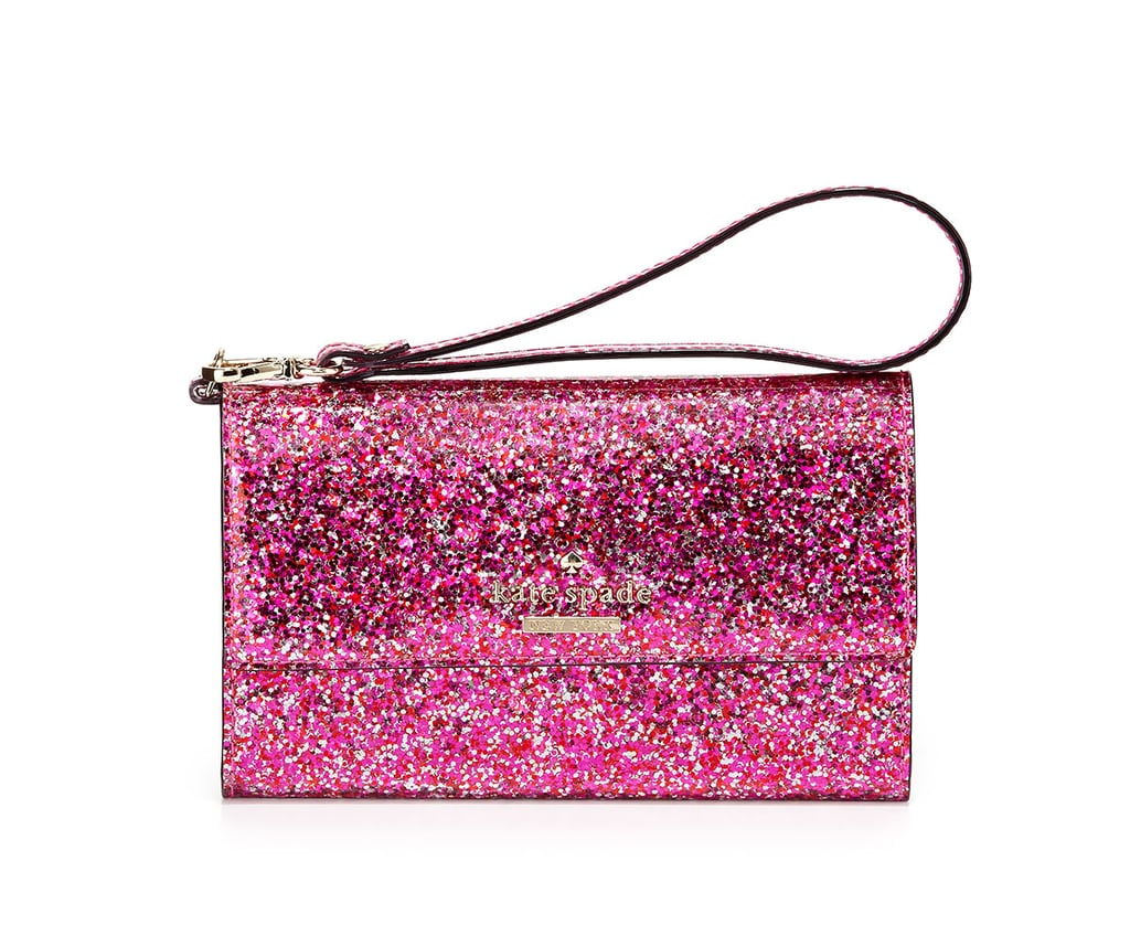Glitter iPhone 6 Wristlet Wallet
