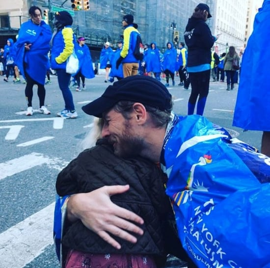 Drew Barrymore and Will Kopelman at NYC Marathon 2016