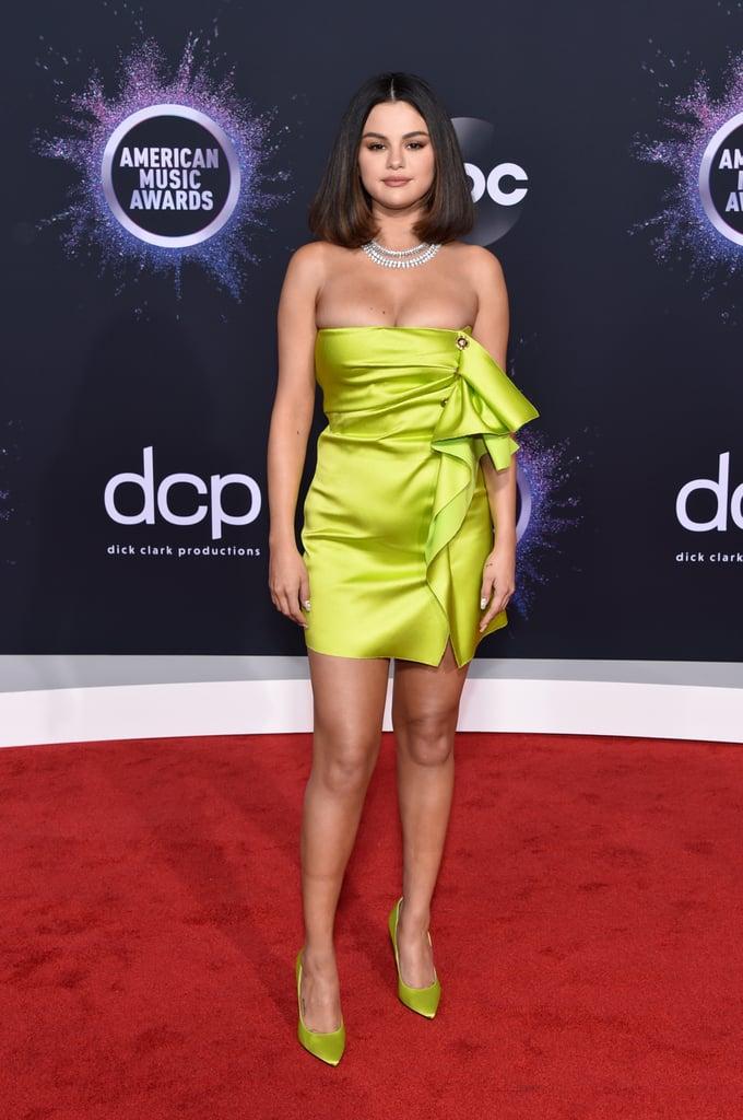 Selena Gomez at the American Music Awards 2019