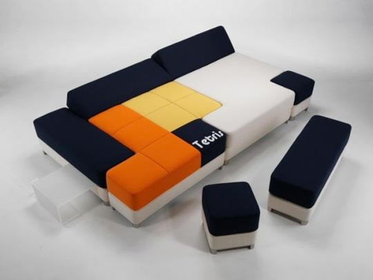Photos of the Tetris Couch