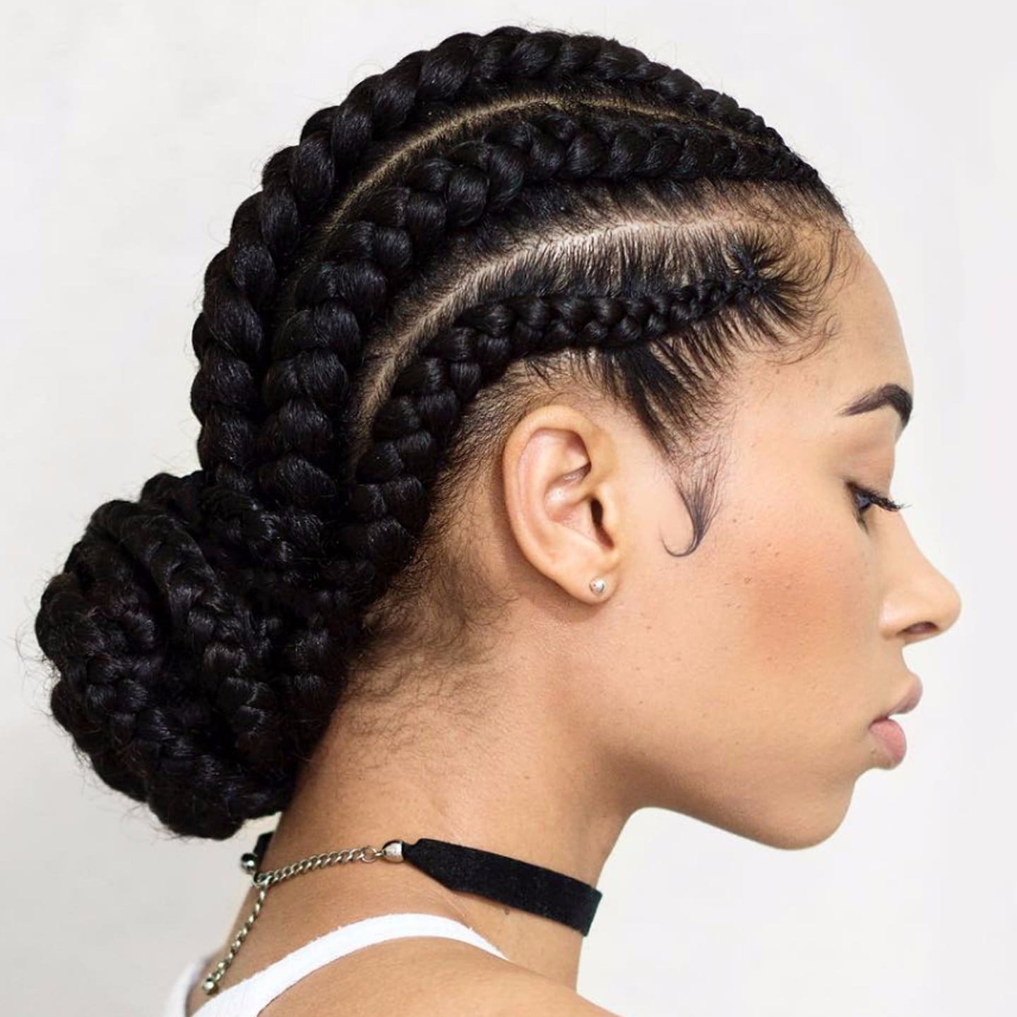 Cornrow braid styles popsugar beauty uk urmus Images