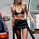 Elle Macpherson Paddles and Plays in Her Bikini During Her Sydney Stay