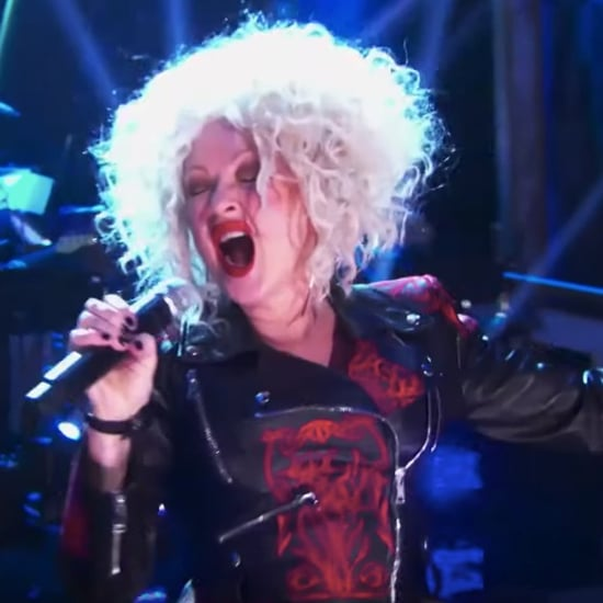 "Cyndi Lauper Sings Cher's ""If I Could Turn Back Time"" Video"