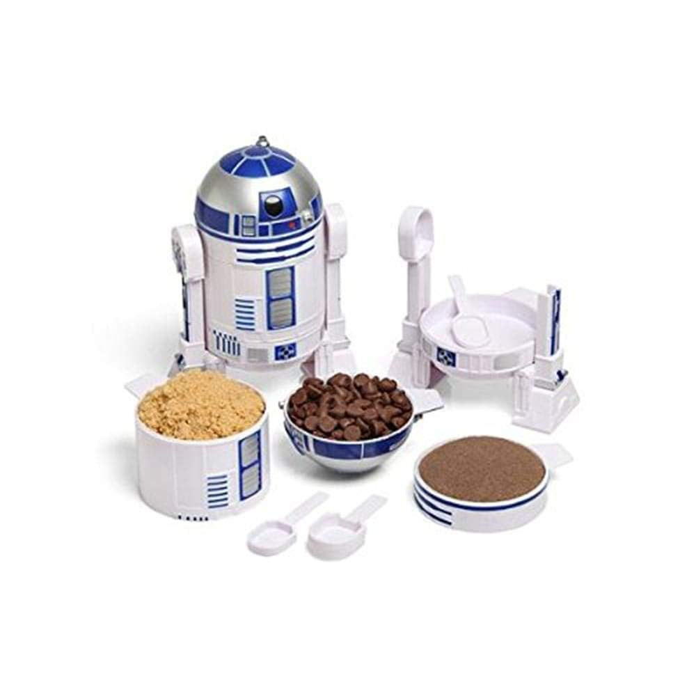 ThinkGeek Star Wars R2-D2 Measuring Cup Set