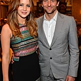 Bradley Cooper and Jennifer Lawrence hung out at the AFI Awards reception.