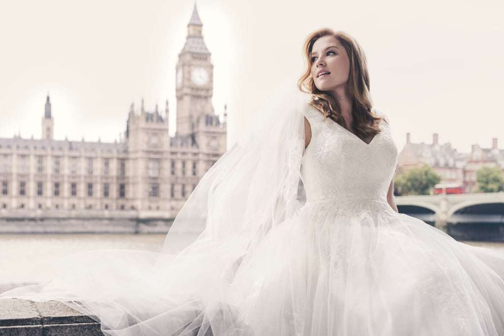 Davids Bridal Plus Size Model Campaign 2015 Popsugar Fashion Uk