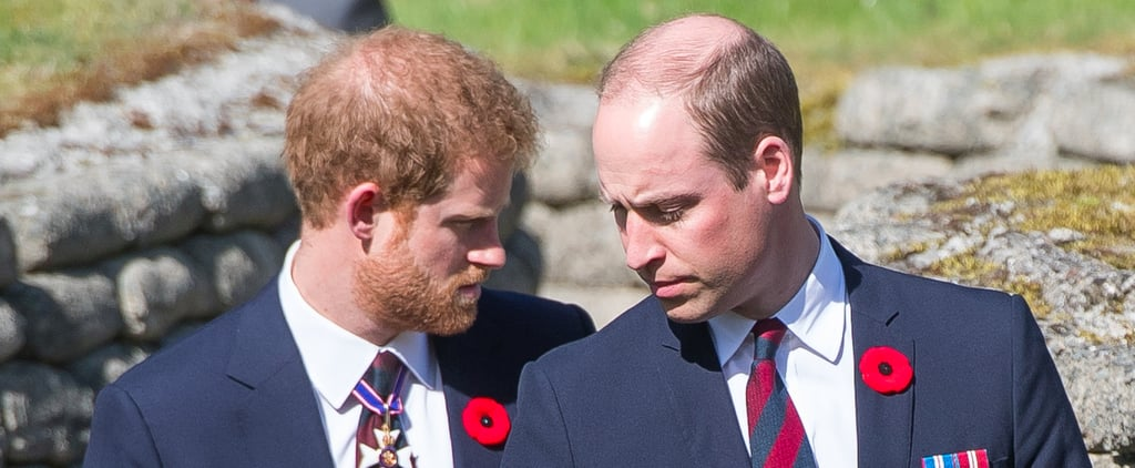 Charles, William, and Harry Honor Fallen Canadian Soldiers in France