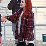 Kristen Stewart Gets Into Slacker Mode
