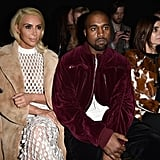 But Still Kept It Cool While Sitting With Carine Roitfeld