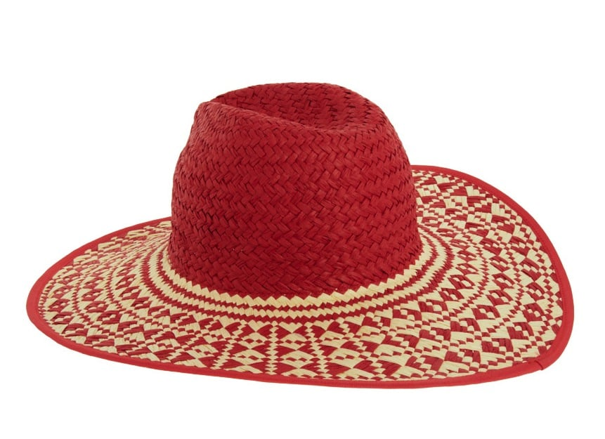 Tex-Mex quirk meets Western bohemian in this wide-brimmed hat — we think this bright version is perfect for mix-and-matching prints. ASOS Mex Tex Straw Fedora Hat ($40)