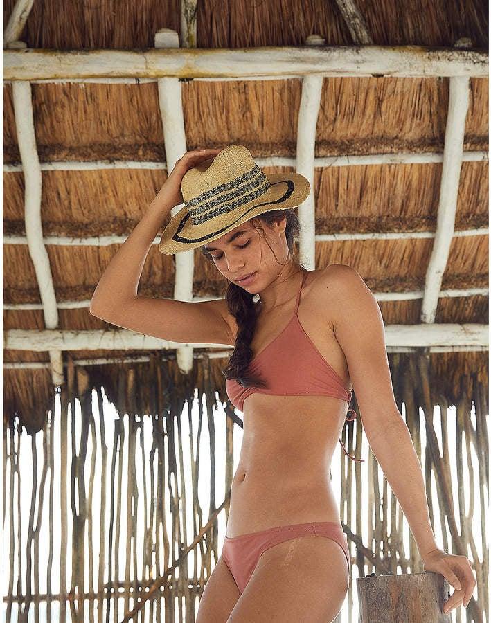 94d33bdb8e Aerie Macrame Scoop Bikini   Ashley Graham Pink Swimsuits For All ...