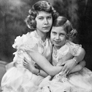 Queen Elizabeth II and Princess Margaret Pictures