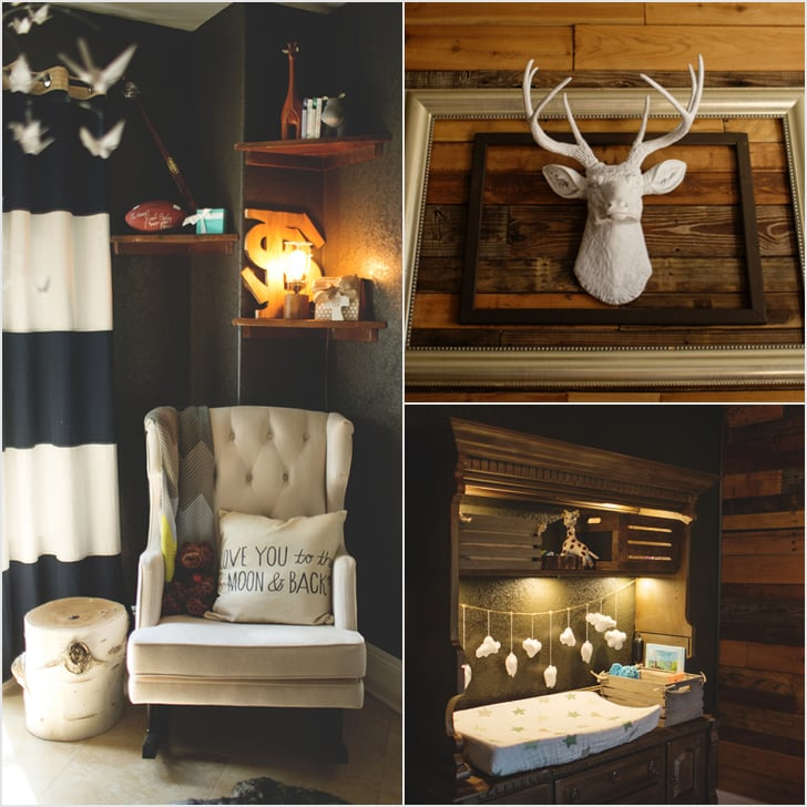 DIY Rustic Baby Boy Nursery
