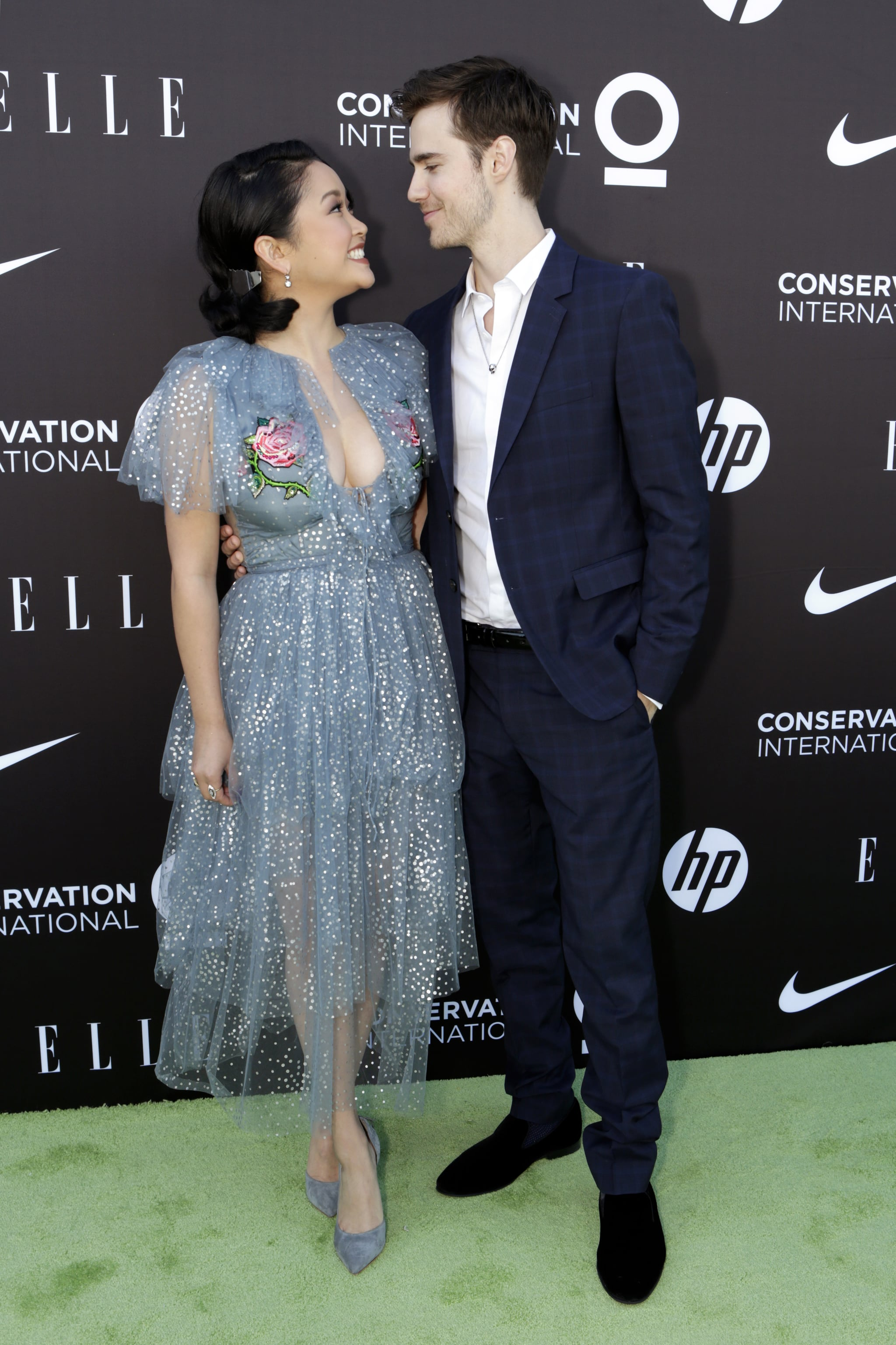 HOLLYWOOD, CALIFORNIA - JUNE 08: (L-R) Lana Condor and Anthony De La Torre attend the Conservation International + ELLE Los Angeles Gala at Milk Studios on June 08, 2019 in Hollywood, California. (Photo by David Poller Photography/Getty Images for Conservation International)