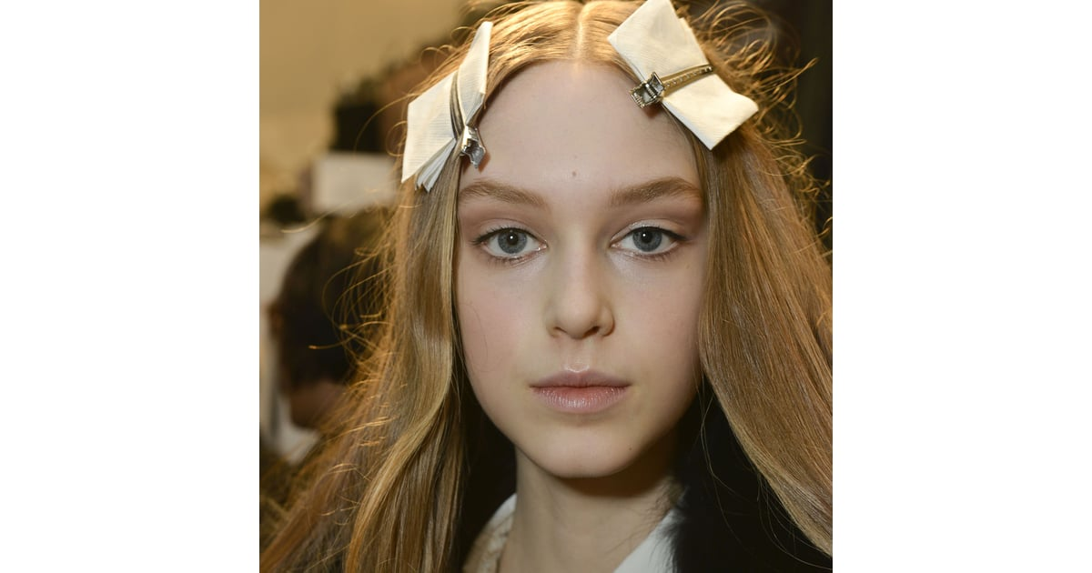 2013 New York Fashion Week Beauty: Jill Stuart Hair