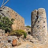 Rustic Traditional Windmill From The Bachelorette — Crete, Greece