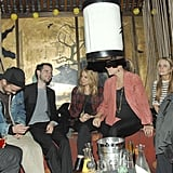 Sienna Miller and Tom Sturridge checked out Guns N' Roses.