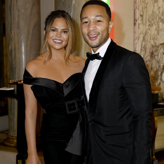 Chrissy Teigen Wedding Guest Dress in Paris