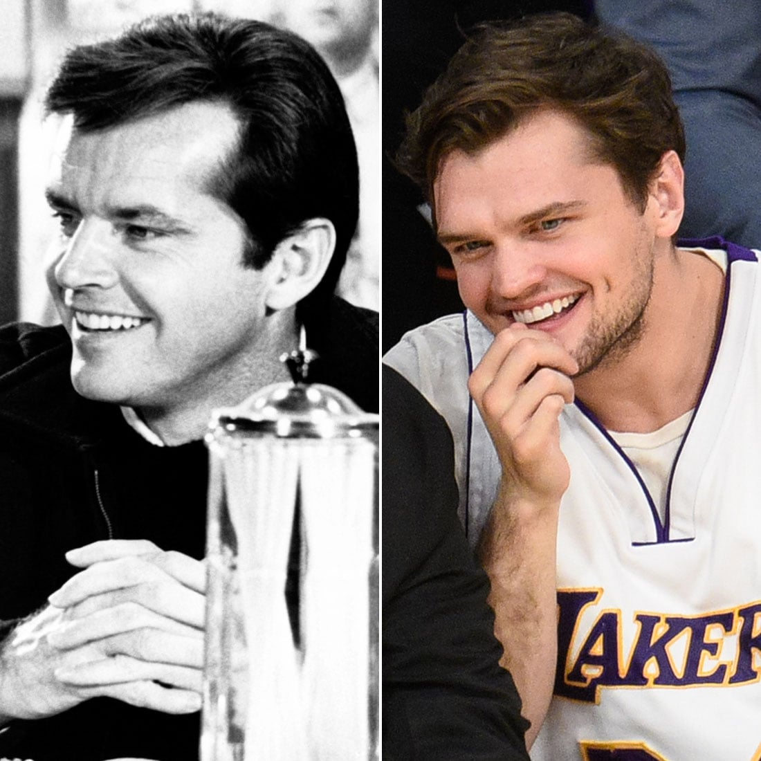 Jack Nicholson And Son Ray Lookalike Photos Popsugar Celebrity The departed is a 2006 american crime thriller film directed by martin scorsese and written by william monahan. jack nicholson and son ray lookalike