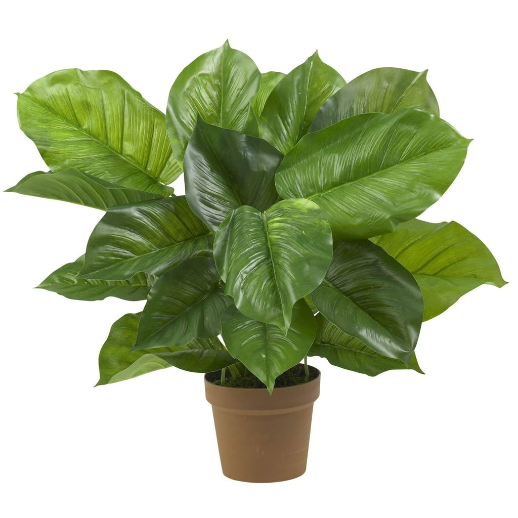 Nearly Natural Large Leaf Philodendron Decorative Silk Plant