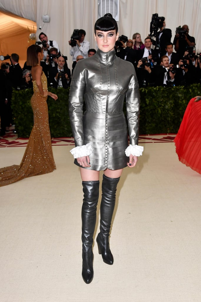 Shailene Woodley at Met Gala 2018