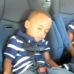 Video of Boy Waking Up Dancing to Waka Flocka