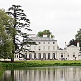 Frogmore House, pictured, is much larger than Frogmore Cottage.