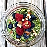 Spinach Overnight Oats
