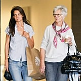 Katie Holmes Spends the Afternoon Shopping With Her Mom, Kathleen