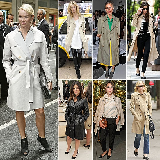 7 Days, 7 Ways: How Celebs Rock the Trench Coat