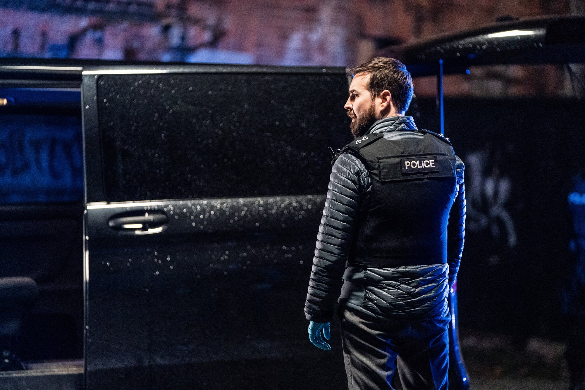 Programme Name: Line of Duty S6 - TX: 25/04/2021 - Episode: Line Of Duty - Ep 6 (No. n/a) - Picture Shows:  DI Steve Arnott (MARTIN COMPSTON) - (C) World Productions - Photographer: Steffan Hill