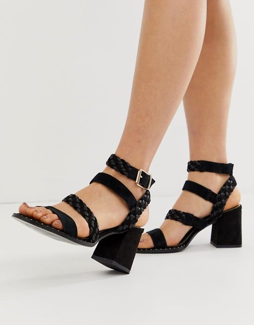River Island Sandals With Multi Straps in Black