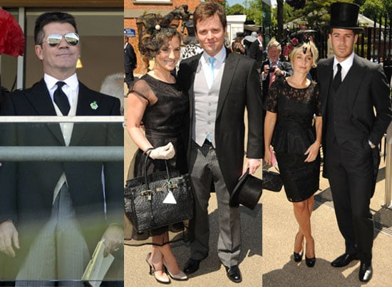Pictures from Ladies Day at Royal Ascot Including Simon Cowell, The Royals, Declan Donnelly and Georgie Thompson and more