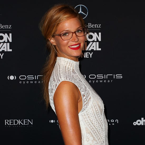 Erin Heatherton at Mercedes Benz Fashion Festival Sydney