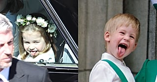 Princess Charlotte Gives Uncle Harry a Taste of His Own Medicine as She Arrives at His Wedding