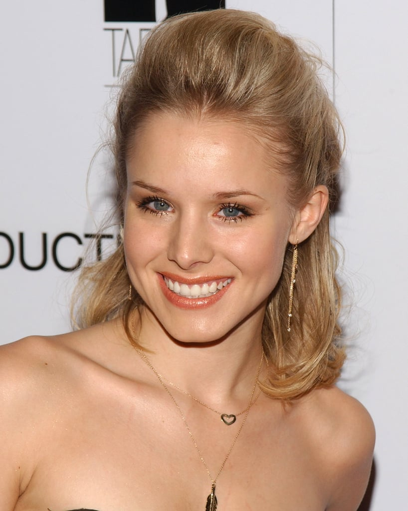 She opted for a bouffant and a small cat eye at Ellegirl's First Annual Hollywood Prom in 2005.