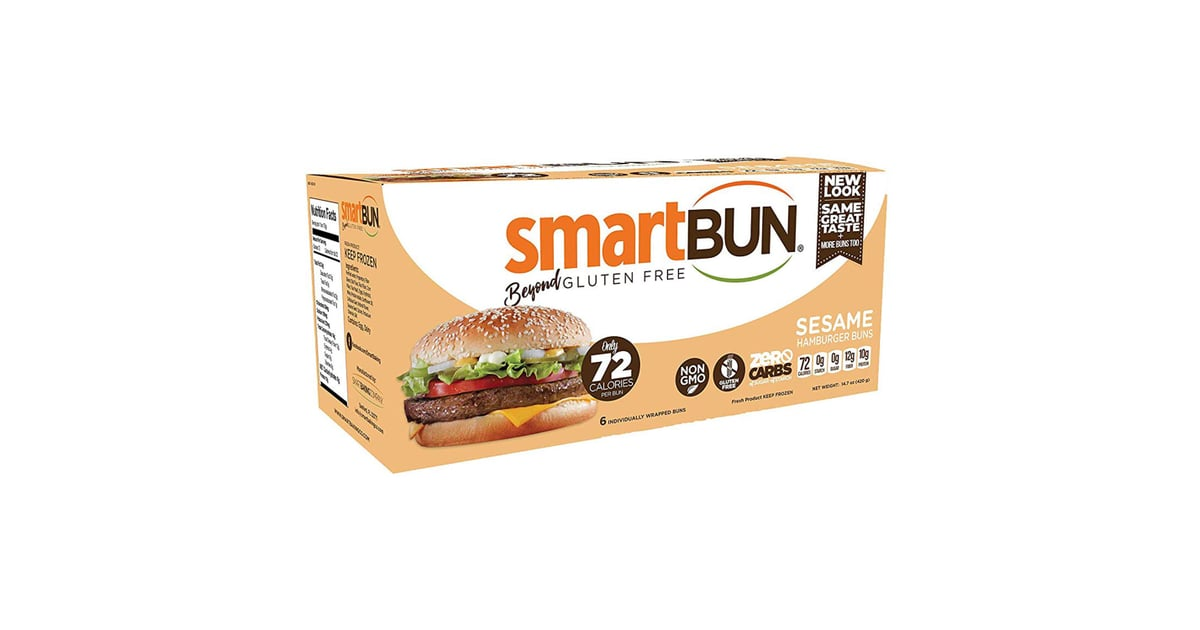 Smartbun Keto Sesame Hamburger Buns Best Low Carb Buns