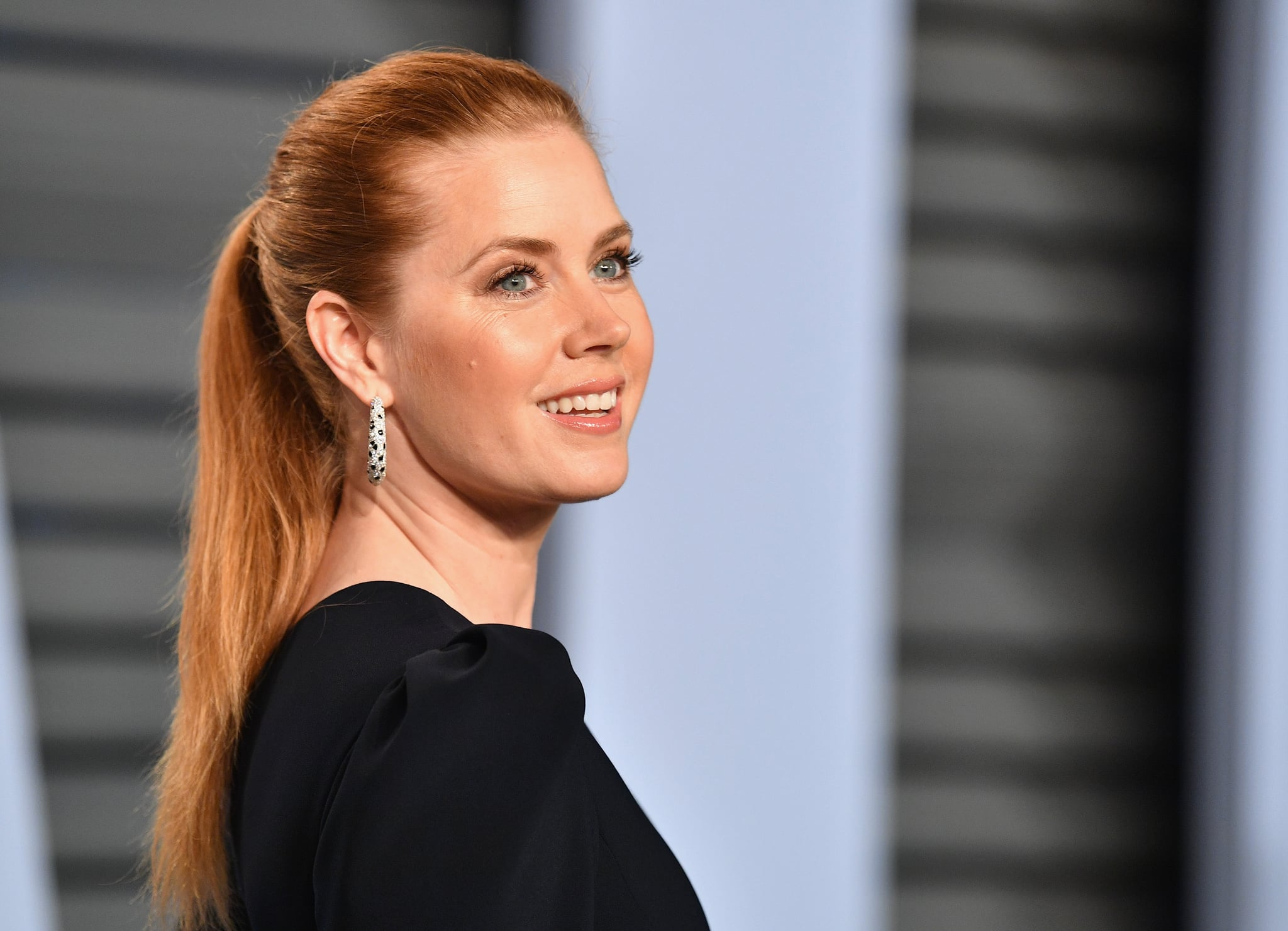 BEVERLY HILLS, CA - MARCH 04:  Amy Adams attends the 2018 Vanity Fair Oscar Party hosted by Radhika Jones at Wallis Annenberg Center for the Performing Arts on March 4, 2018 in Beverly Hills, California.  (Photo by Dia Dipasupil/Getty Images)