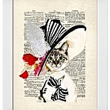 Art.com Audrey Cat Framed Art Print