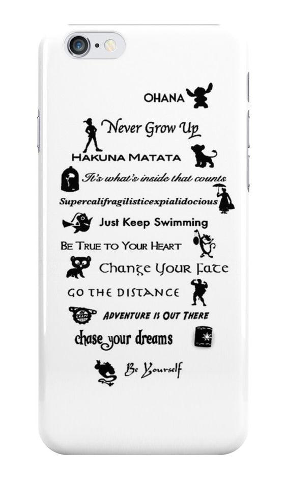 Disney quotes case ($25)