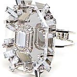 This stunning crystal-clear cuff is the perfect mix of edgy and glamorous.  BaubleBar Marie Ice Cuff ($84)