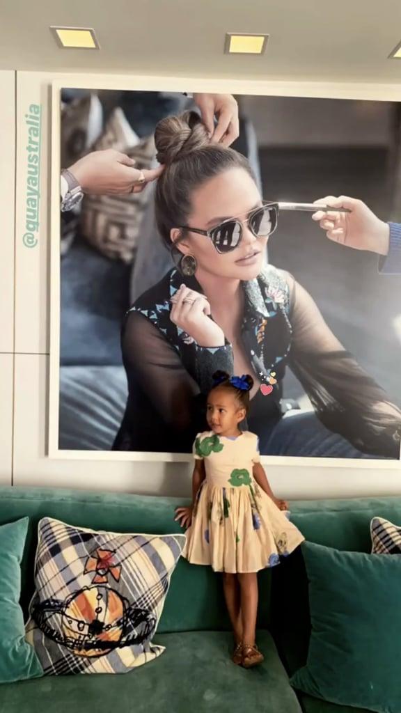 Chrissy Teigen John Legend Family at Quay Launch Photos 2019